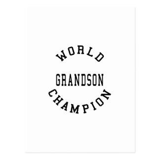 Nietos retros frescos: Nieto del campeón del mundo Postal