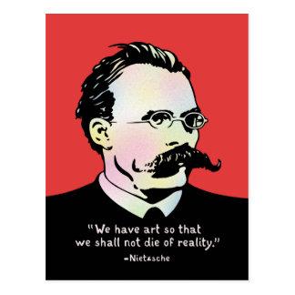 Nietzsche - realidad del arte v. postal