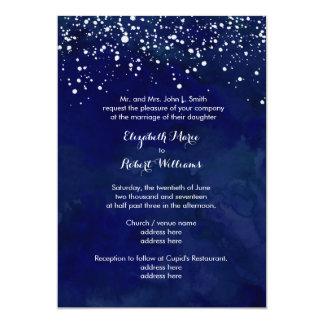 Compra tus invitaciones de boda con diseños azules en la gran selección de Zazzle.