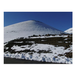 Nieve en Mauna Kea Postal