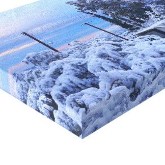 Nieve Impresión En Lienzo