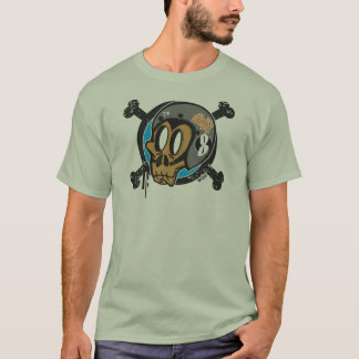 Night  Racers Monkeys Club Logo Frontal. Camiseta