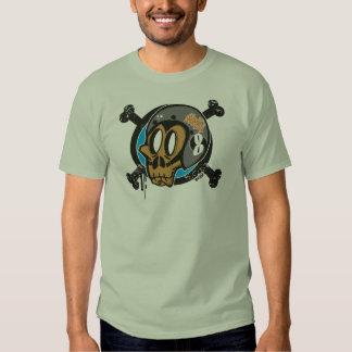 Night  Racers Monkeys Club Logo Frontal. Camisetas
