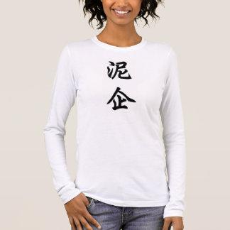 niki camiseta de manga larga