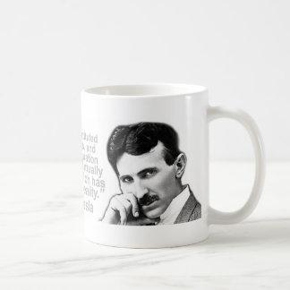 Nikola Tesla citó las tazas de café de la
