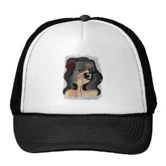 niña gorras de camionero