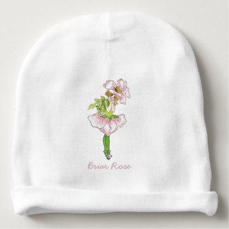 Niña linda subió Briar del niño de flor del Gorrito Para Bebe