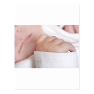 Niña recién nacida postales