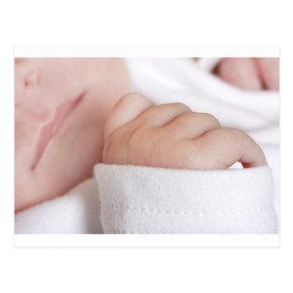 Niña recién nacida tarjetas postales