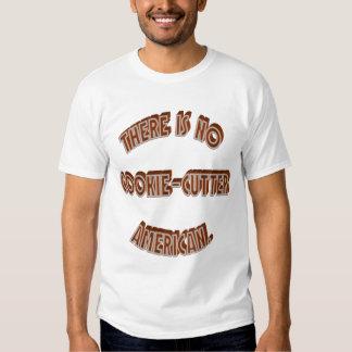 Ningún americano del Galleta-Cortador Camisas