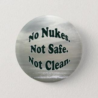 Ningún botón de las armas nucleares en la costa