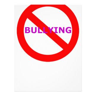 ningún bullying.png folleto 21,6 x 28 cm