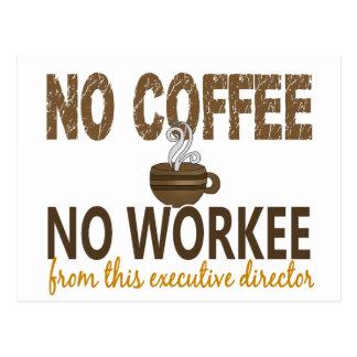 Ningún café ningún director ejecutivo de Workee Postal