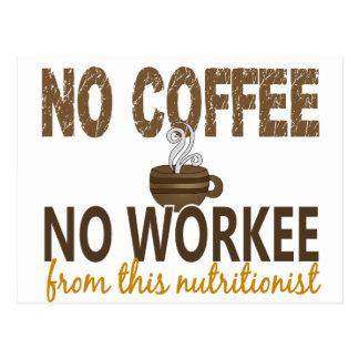 Ningún café ningún nutricionista de Workee Postal