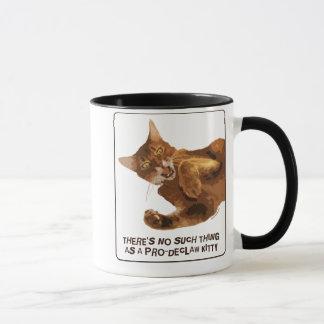Ningún Declaw la taza del campanero del gatito