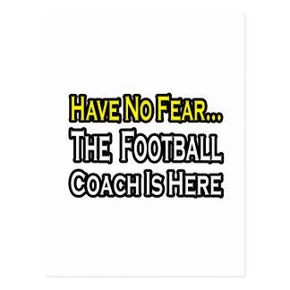 Ningún entrenador de fútbol del miedo… postal