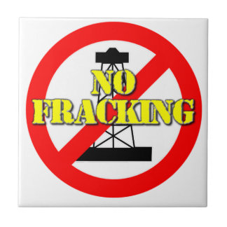 Ningún Fracking Reino Unido 2 Azulejo De Cerámica