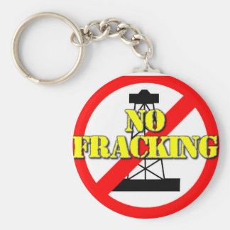Ningún Fracking Reino Unido 2 Llavero