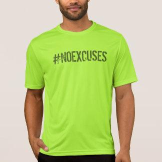 Ningún GIMNASIO de motivación del #NOEXCUSES de Camiseta