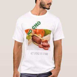 ningún gmo camiseta