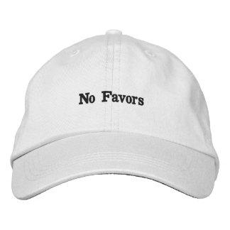 Ningún gorra de los favores