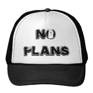 Ningún gorra de los planes