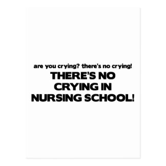 Ningún griterío en escuela de enfermería postal
