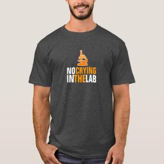 Ningún griterío en la camiseta del laboratorio
