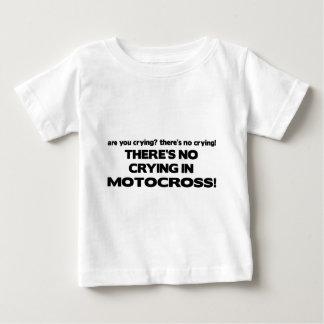Ningún griterío - motocrós camiseta