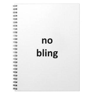 ningún jGibney bling1 los regalos de Zazzle del Libro De Apuntes