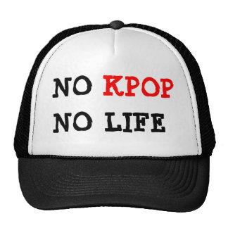 Ningún Kpop ningún gorra de la vida