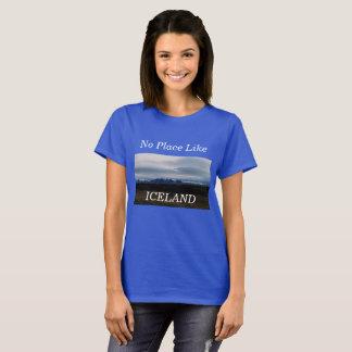 Ningún lugar tiene gusto de la camisa de Islandia