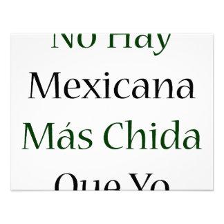 Ningún Mas Chida Que Yo de Mexicana del heno Comunicados Personales