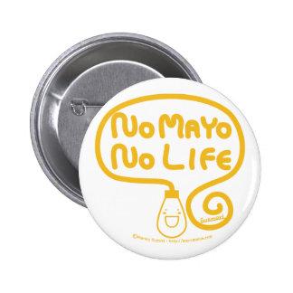 Ningún Mayo ninguna vida Chapa Redonda De 5 Cm