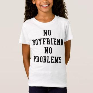 ningún novio ningunos problemas camiseta