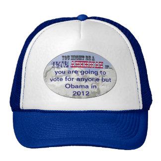 ningún obama 2012 gorras