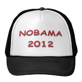 Ningún Obama en 2012 Gorro De Camionero