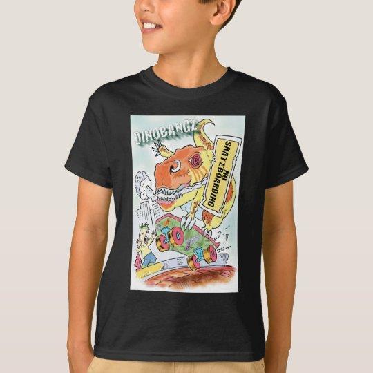 Ningún Skateboarding Camiseta