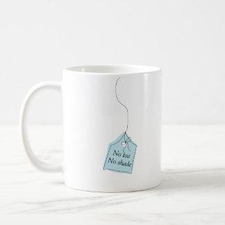 Ningún té ninguna taza del té o de café de la