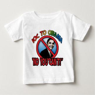 Ningún usted no puede camisetas