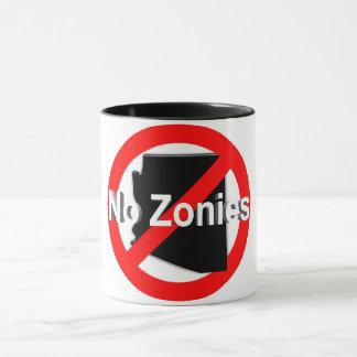 ¡Ningún Zonies! Taza de café