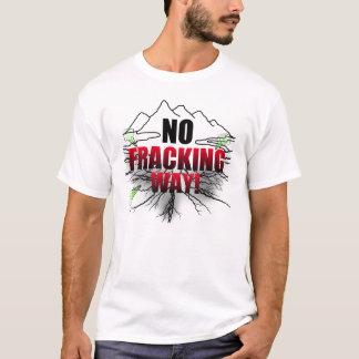 Ninguna camisa de Fracking