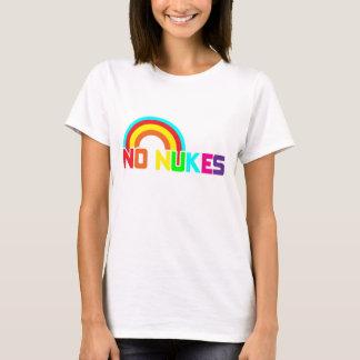 Ninguna camiseta de las armas nucleares