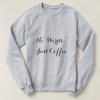 Ninguna camiseta del café de las palabras… apenas