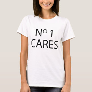 Ninguna camiseta Tumblr de 1 cuidado