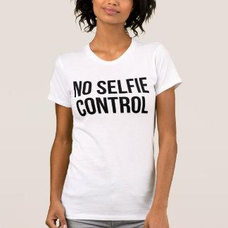 Ninguna camiseta Tumblr del control de Selfie
