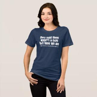Ninguna curación para la camisa de la mujer de la