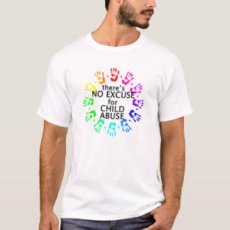 Ninguna excusa para la pederastia camiseta