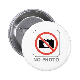 Ninguna foto chapa redonda de 5 cm