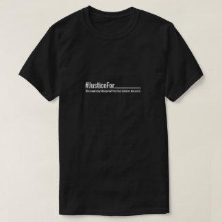 Ninguna justicia camiseta